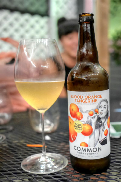 2015 Common Cider Blood Orange Tangerine