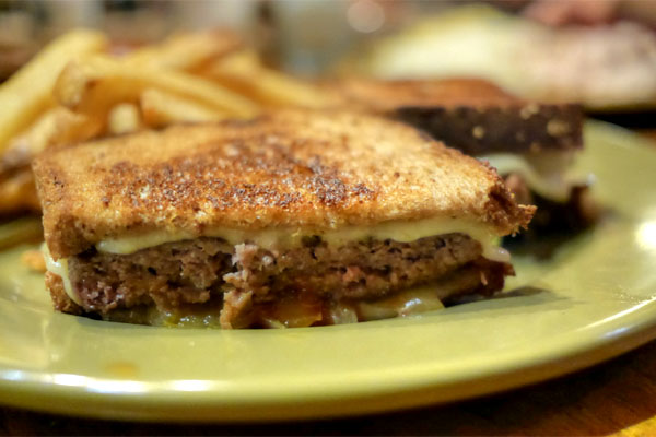 The Catalina Bison Patty Melt