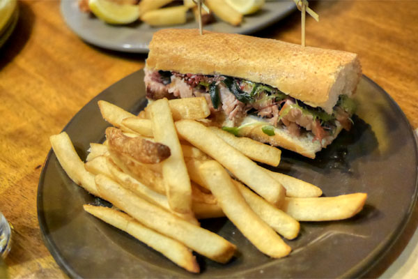 Seared Ahi Tuna Sandwich