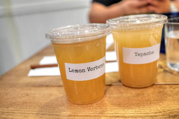 Yuzu Lemon Verbena Kombucha / Tepache