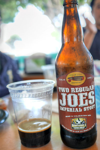 2015 Cigar City Two Regular Joes