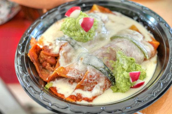 Enchiladas de Plaza