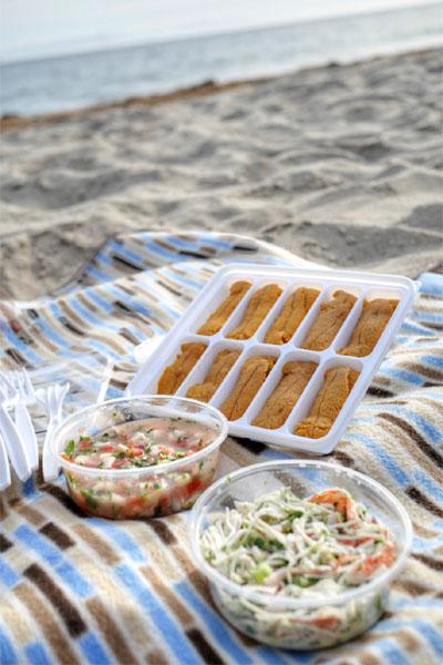 Uni Tray / Santa Barbara Ceviche / Crab Salad
