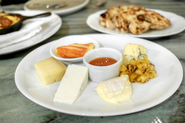Chef's Selection of Five Cheeses