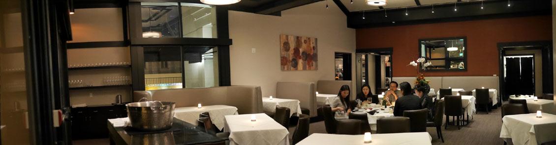 Alexander's Steakhouse Dining Room