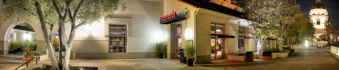 Alexander's Steakhouse Exterior