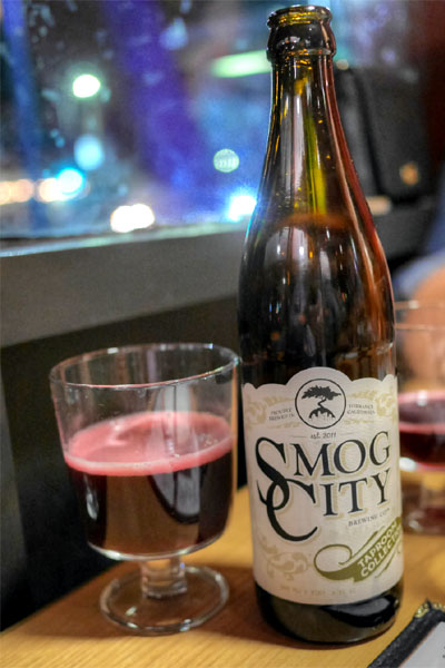 2015 Smog City Black Currant Saison