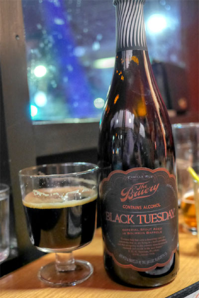 2015 The Bruery Black Tuesday