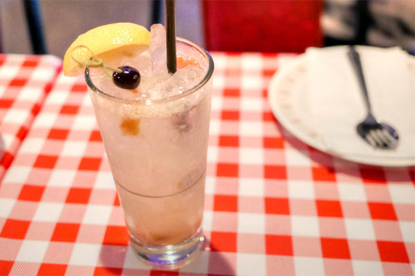 Salted Plum Vodka Collins