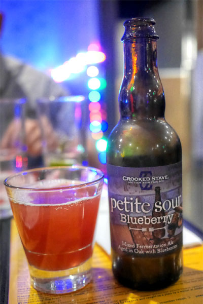 2015 Crooked Stave Blueberry Petite Sour