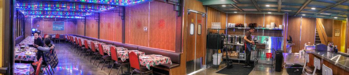 Pok Pok LA Downstairs Dining Room
