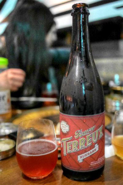 2015 Bruery Terreux Ruebarb