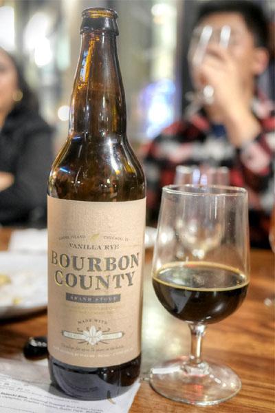 2015 Goose Island Bourbon County Vanilla Rye