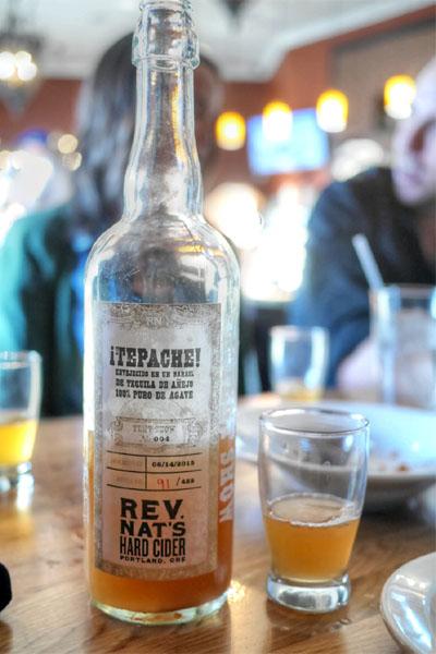 2015 Reverend Nat's Tepache Envejecido En Un Barrel De Tequila