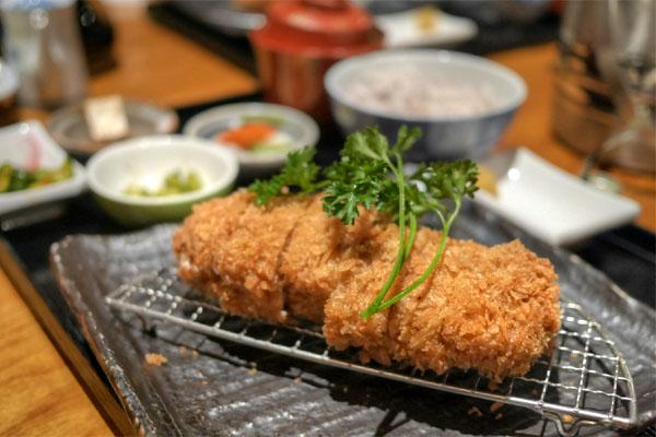 Millefeuille Shiso Cheese Katsu Gozen