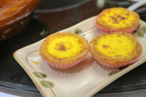 Macau Style Baked Egg Custard