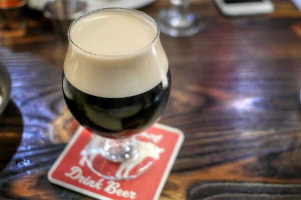 Old Rasputin Imperial Stout, North Coast Brewing, Fort Bragg, CA