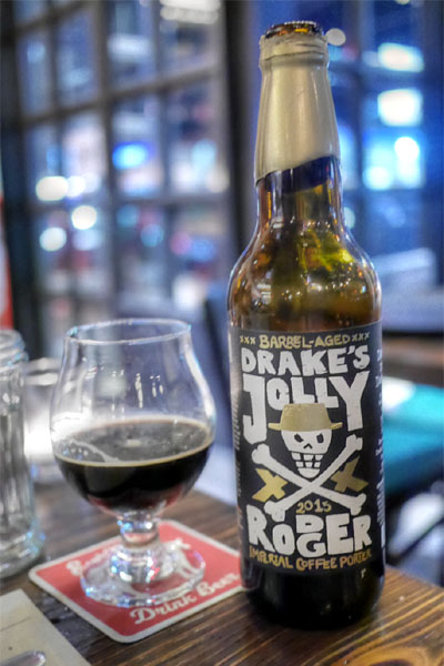 2015 Drake's Barrel-Aged Jolly Rodger