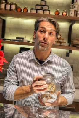 David Féau and White Truffles