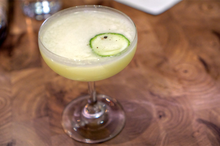 Unfiltered Sake · Yuzu · Green Chile · Ginger · Japanese Cucumber · Vodka