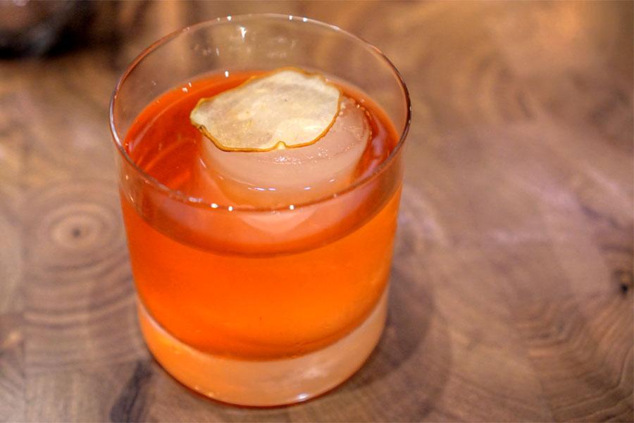Sencha Tea · Campari · Blended Scotch · Fennel
