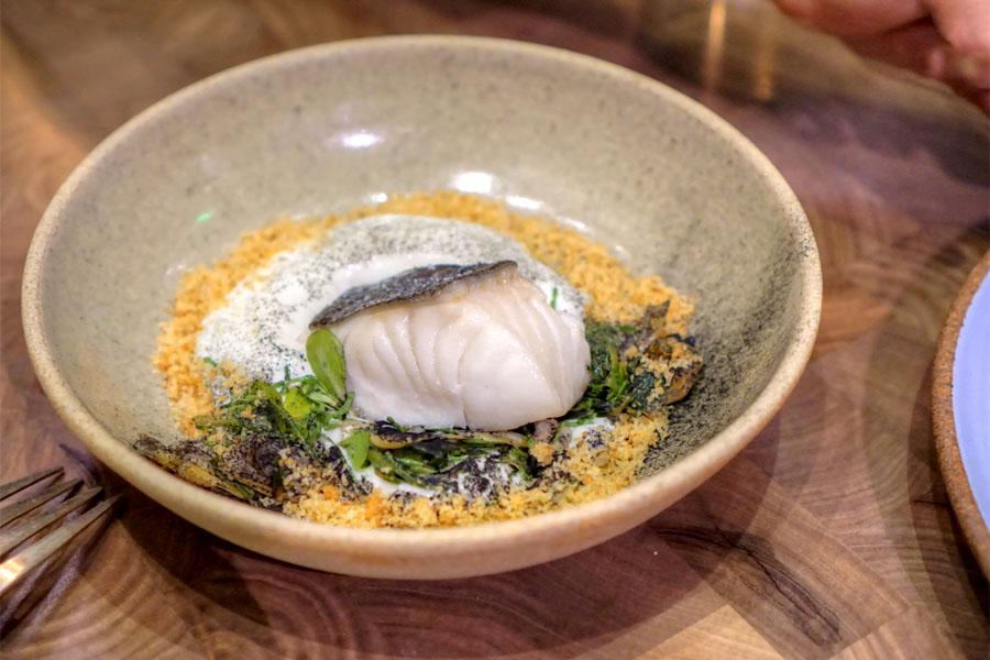 Cod·Burnt Onion·Clams·Purslane