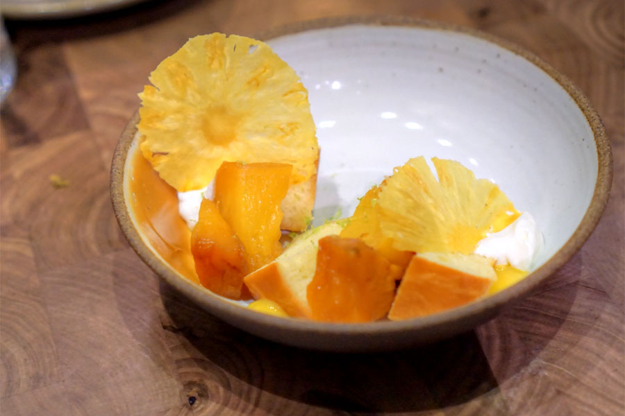 Baba Rum·Pineapple·Caramel·Passion Fruit