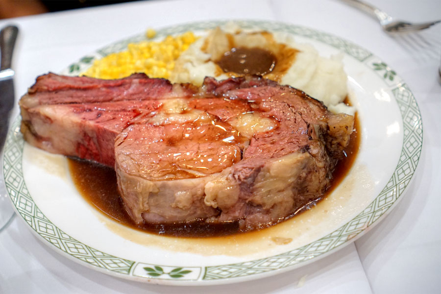 Roast Prime Rib of Beef Au Jus - The Beef Bowl Cut
