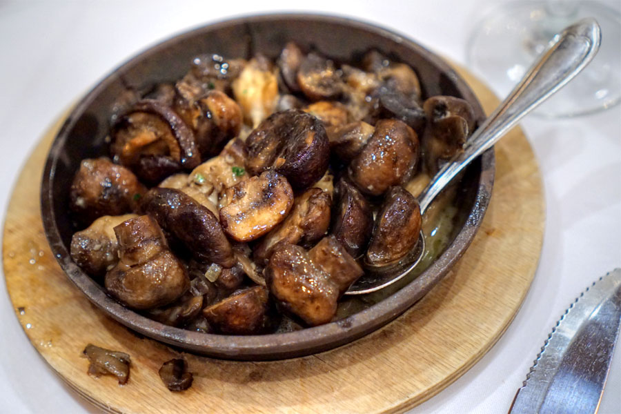Sizzling Skillet of Mushrooms