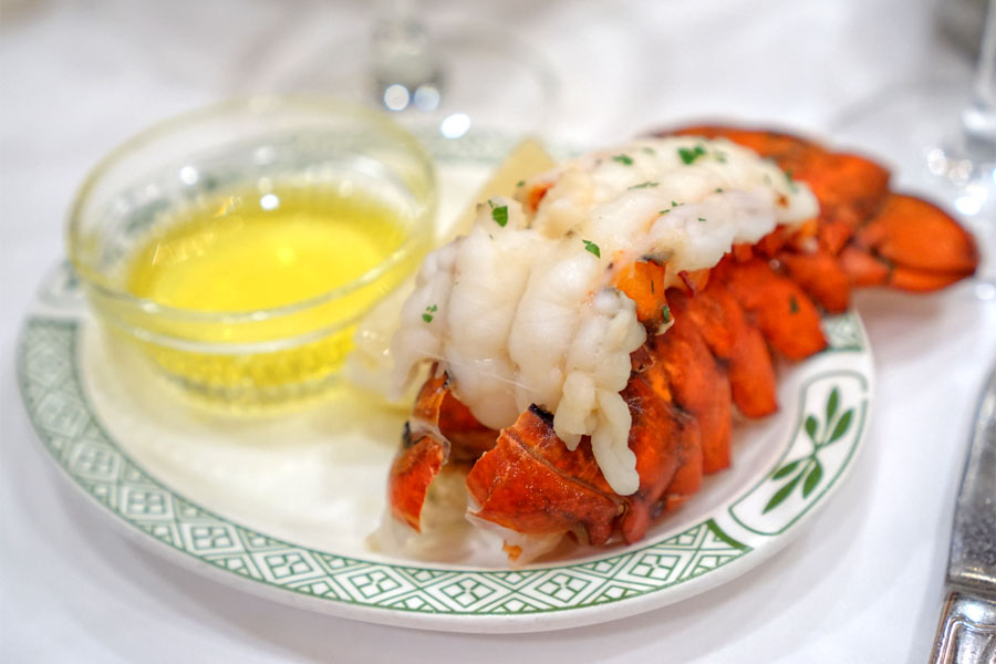 Broiled Atlantic Lobster Tail
