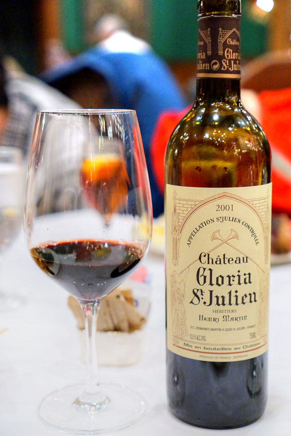 2001 Château Gloria, Saint-Julien, France