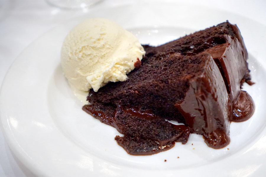 Warm Chocolate Fantasy Cake