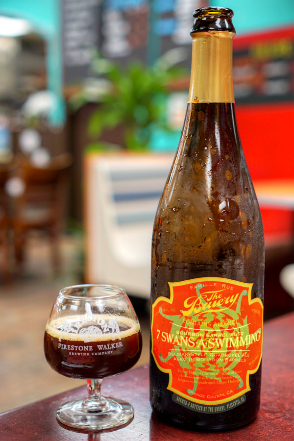 2015 The Bruery Bourbon Barrel Aged 7 Swans-A-Swimming