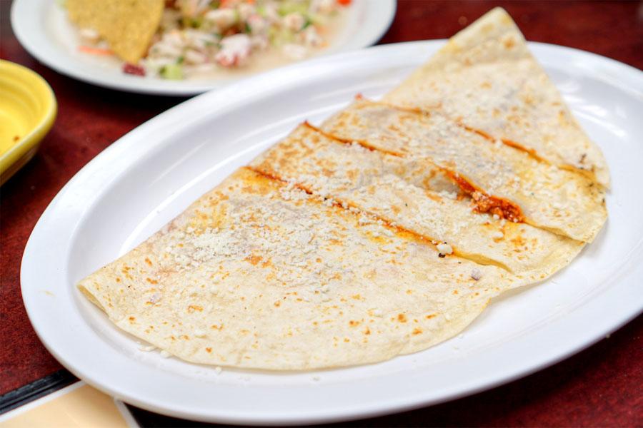 Quesadilla - Chorizo
