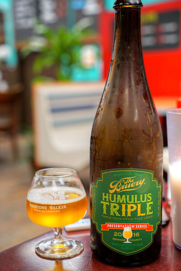 2015 The Bruery Humulus Triple