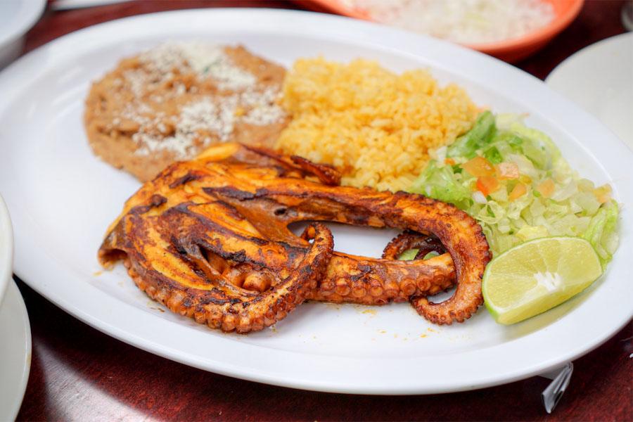 Octopus Zarandeado