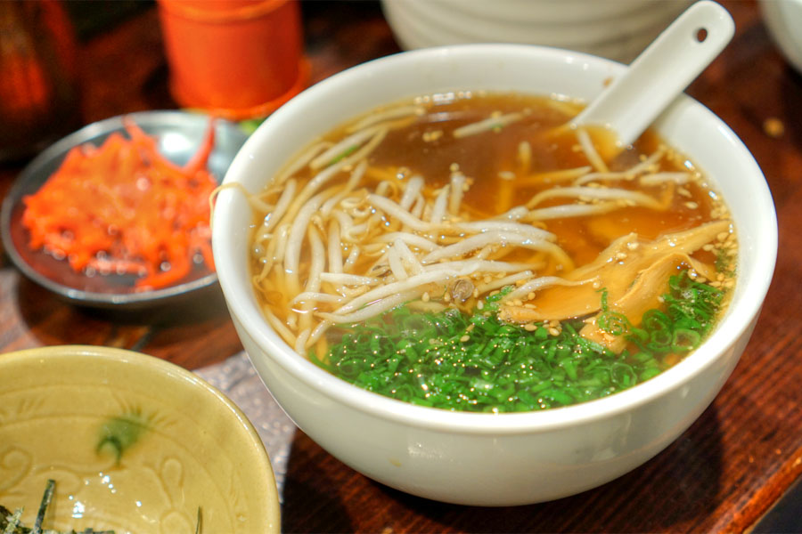 Soy Chicken Soup Ramen