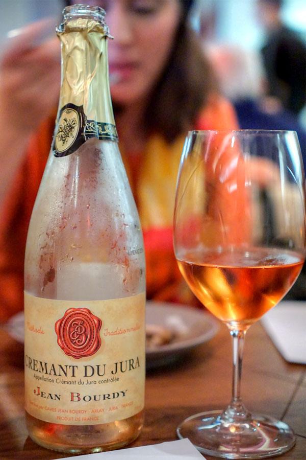 M.V. Crémant de Jura Rosé, Caves Jean Bourdy
