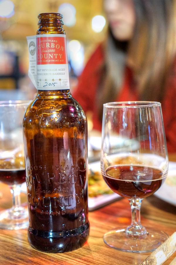 2015 Goose Island Bourbon County Brand Barleywine Ale