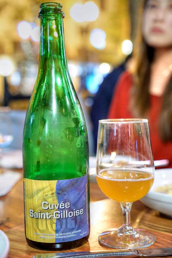 2015 Cantillon Cuvée Saint Gilloise