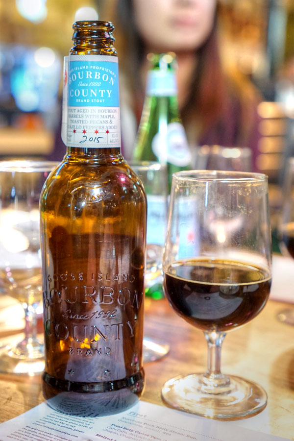 2015 Goose Island Proprietor's Bourbon County Brand Stout