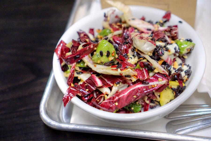 Forbidden Rice & Quinoa Salad