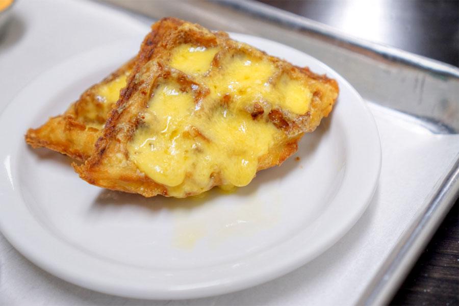 Potato Waffle + Cheddar