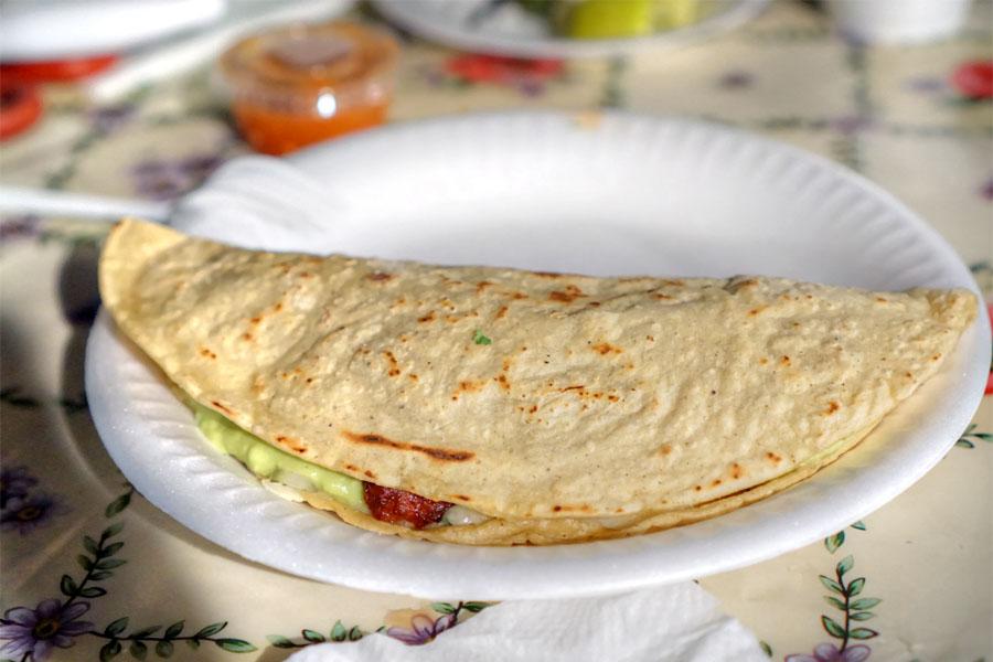 Chorizo Quesadilla