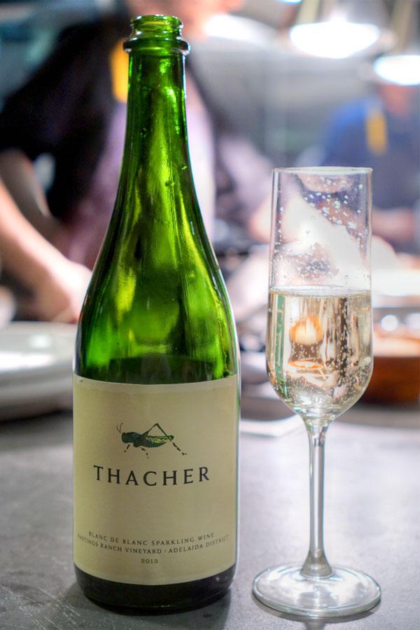 2013 Thacher Blanc de Blanc