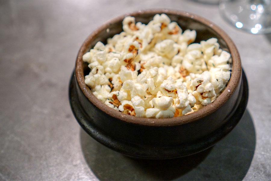 Garlic-Thyme Popcorn
