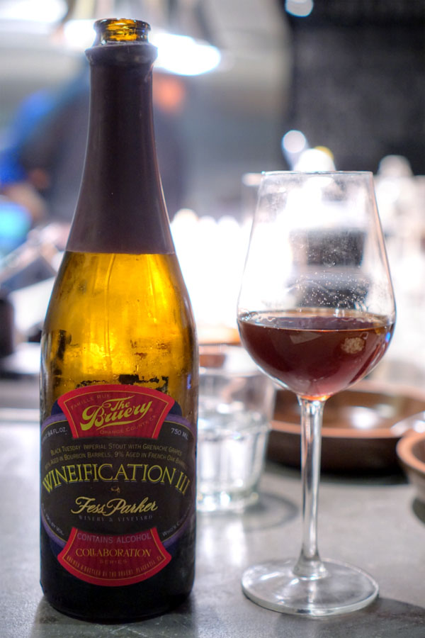2015 The Bruery Wineification III