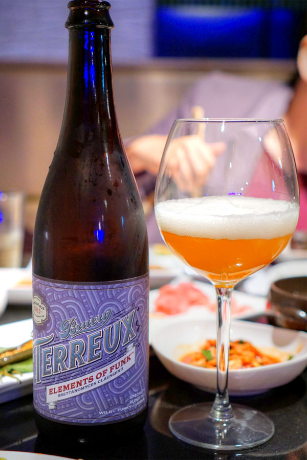 2015 Bruery Terreux Elements of Funk: Brettanomyces Claussenii