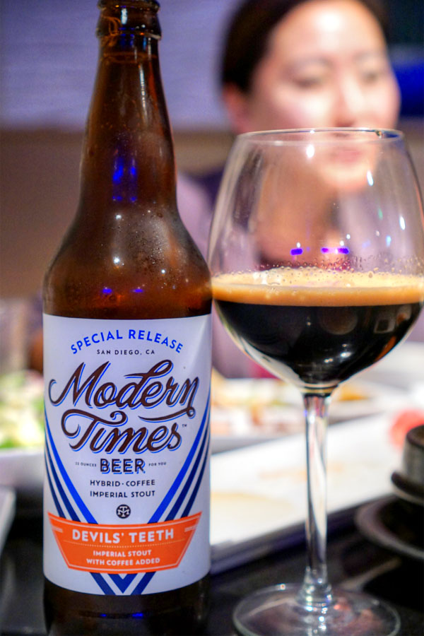 2016 Modern Times Devil's Teeth with Coffee