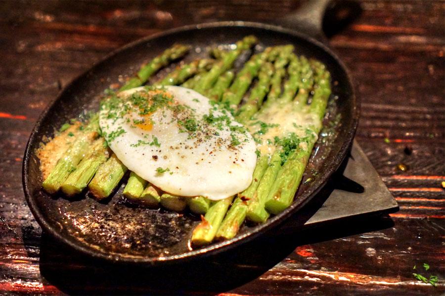 Asparagus & Egg